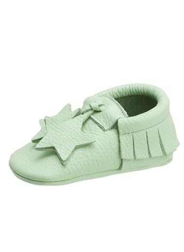 Moots Moots Yeşil Yıldızlı Ayakkabı Yeşil